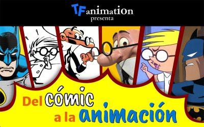 """Mesa redonda """"Del cómic a la animación""""."""